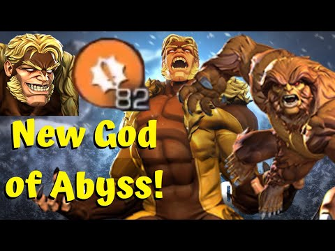 Sabretooth Mind Blowing Damage! New God of Abyss! Sasquatch Synergy! - Marvel Contest of Champions from YouTube · Duration:  14 minutes 47 seconds