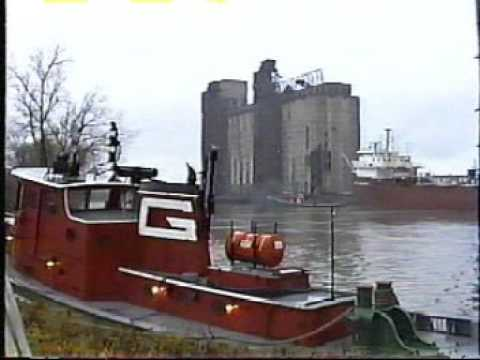 Grain boats, cement carriers, & tankers in Buffalo