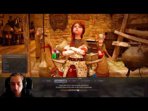 Lets Play Black Desert #154 Gathering Advancement Lv20 Return of Lara and Desire for Power [ENG]