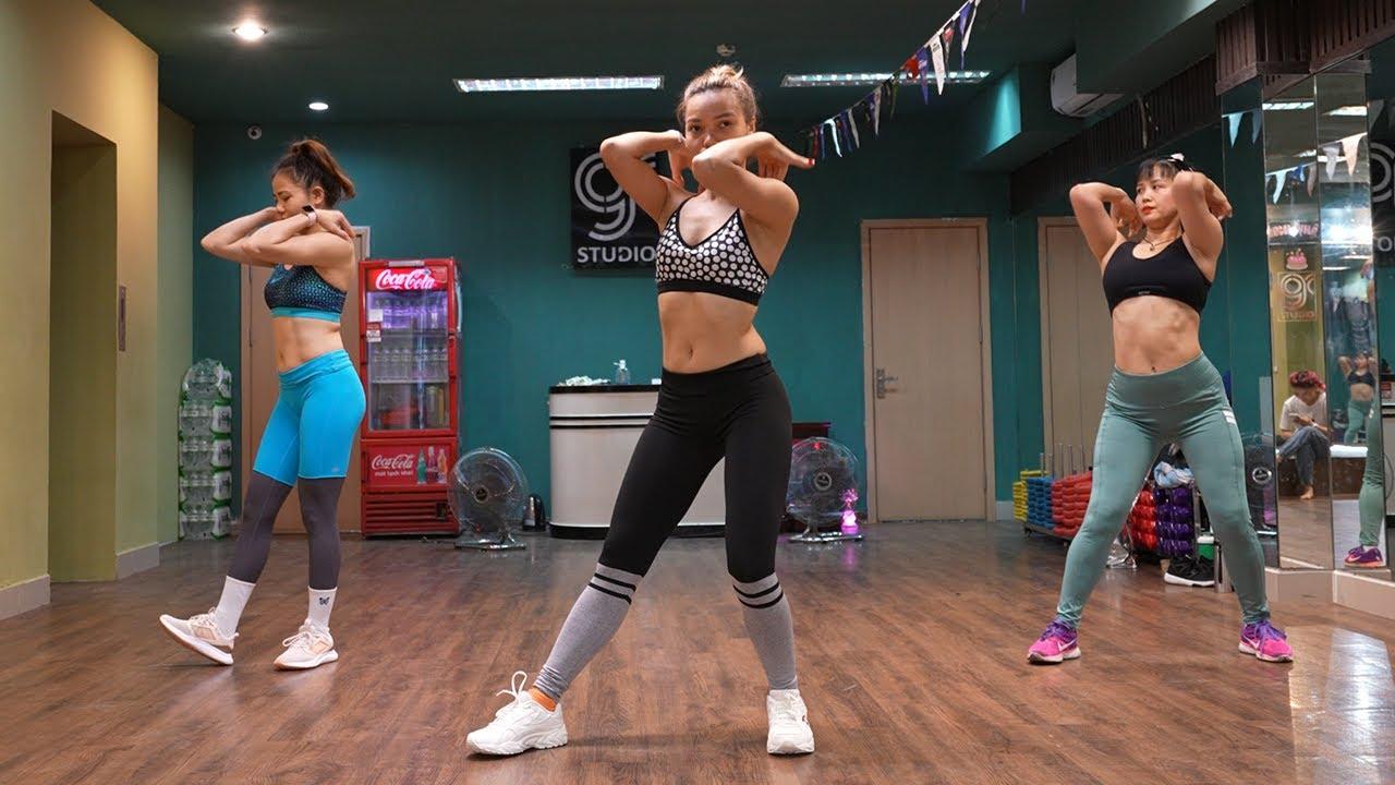 Download Aerobic Giảm Cân - Giảm Mỡ - Giảm Béo Toàn Thân #5 | Inc Dance Fit