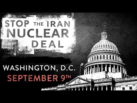 SECURE FREEDOM - STOP IRAN RALLY - 9.9.2015