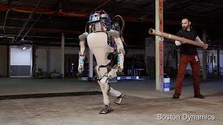 Новый Робот Атлас (Robot Atlas) представили в США.