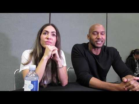 Natalia Cordova & Henry Simmons for Agents of SHIELD at Wondercon 2017
