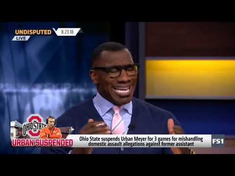 Skip and Shannon argue: Ohio State suspends Meyer says