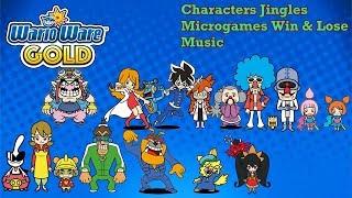 WarioWare: Gold All Characters Jingles Microgames Win & Lose Music