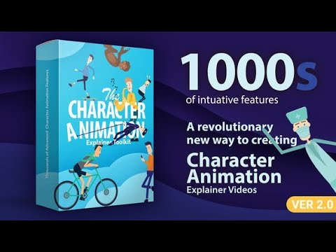 The Most Advanced Character Animation Explainer Toolkit
