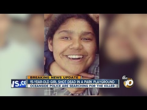 15-year-old girl shot dead at Oceanside park