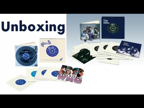 The Who Reaction and Track Singles Unboxing