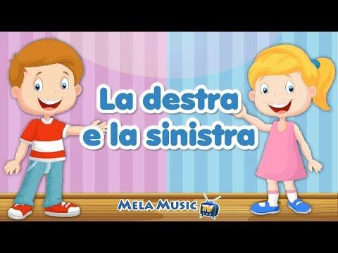 La destra e la sinistra - Canzoni per bambini