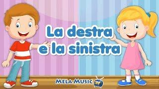 La destra e la sinistra - Canzoni per bambini @MelaMusicTV