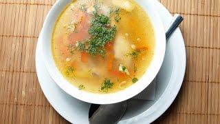 Домашние видео рецепты - суп с мясными клецками в мультиварке
