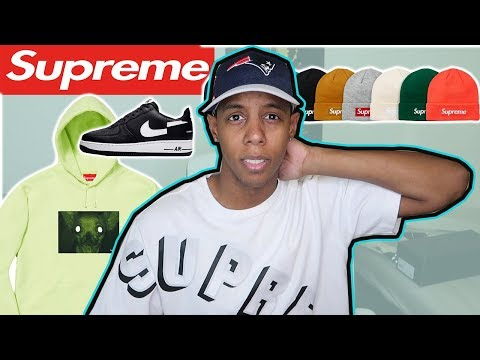 SUPREME FW18 WEEK 12 CHRIS CUNNINGHAM COLLAB/DROPLIST REVIEW Mp3
