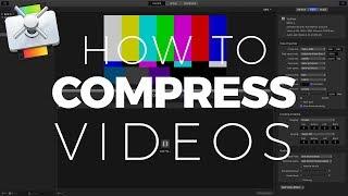 compressor YouTube Settings