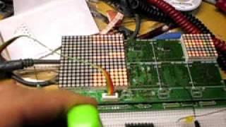 Dot Matrix Clock Display MOSFET Issues