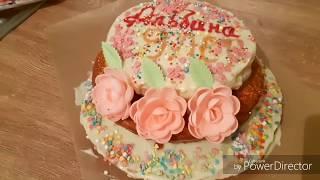 Готовлю торт на день рождения дочки
