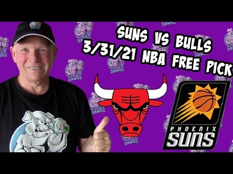 Phoenix Suns vs Chicago Bulls 3/31/21 Free NBA Pick and Prediction NBA Betting Tips