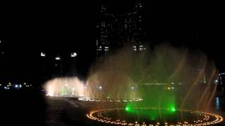 Burj Dubai-Fountain water show