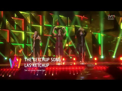 Las Ketchup i Melodifestivalen 2016