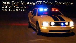 2008 Ford Mustang GT Police Interceptor