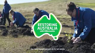 restoring australia with officeworks