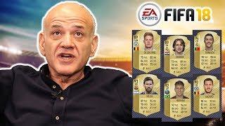 Ahmet Çakar, Ronaldo, Messi ve Neymar'ı puanladı! | Fifa Kart