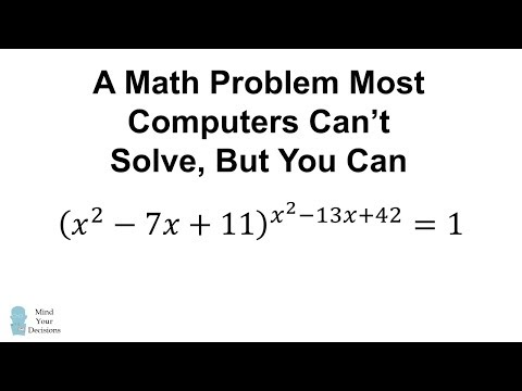 This Problem STUMPS PhotoMath And Many Solvers! Can You Figure It Out?