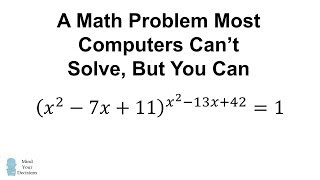 Simple Problem STUMPS PhotoMath! Can You Figure It Out?