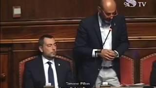 Il senatore della Lega Simone Pillon