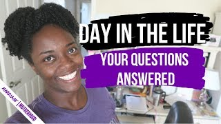 WHAT MY DAY LOOKS LIKE AS A FULL-TIME ENTREPRENEUR | Q&A about business, youtube, my schedule,
