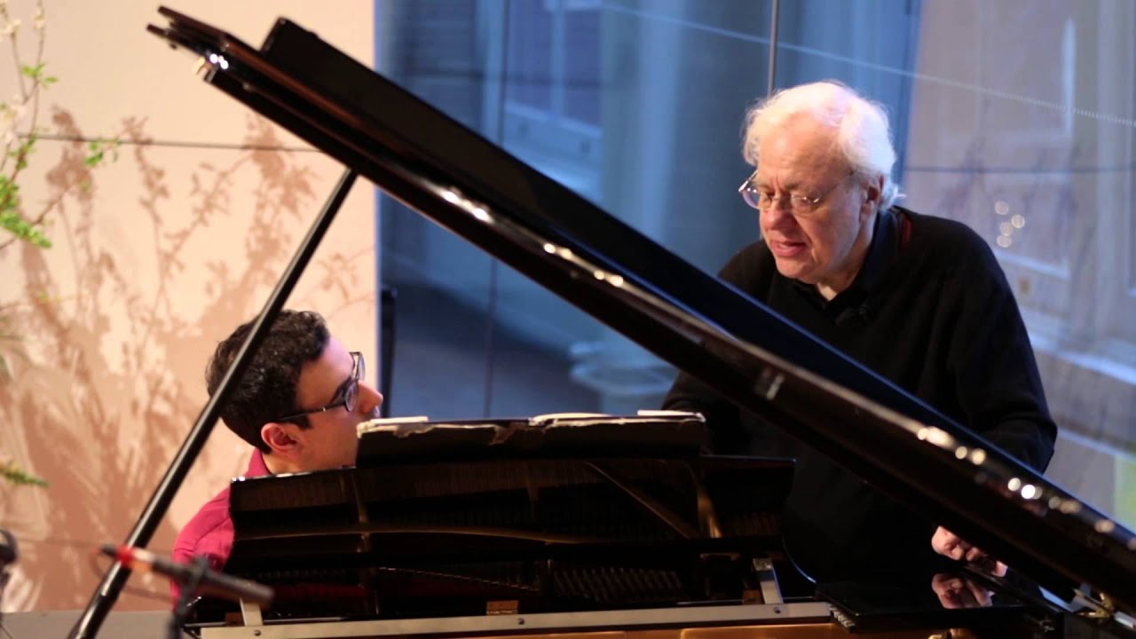 "Richard Goode Master Class: Debussy ""La terrasse des audiences du clair de lune"" Préludes, Book II"