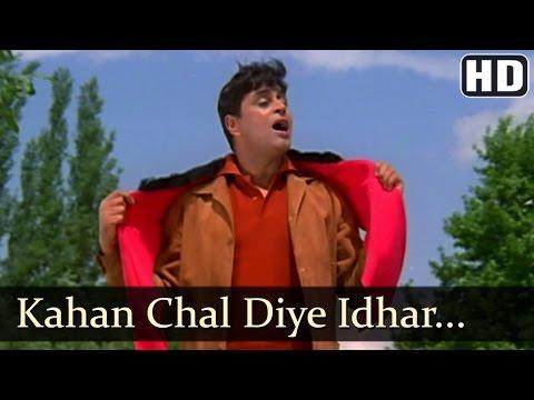 Kahan Chal Diye - Rajendra Kumar - Saira Banu - Jhuk Gaya Aasman - Bollywood Songs - Mohammad Rafi