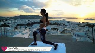 Women's Best travels the world / Danni Belle's workout SECRETS