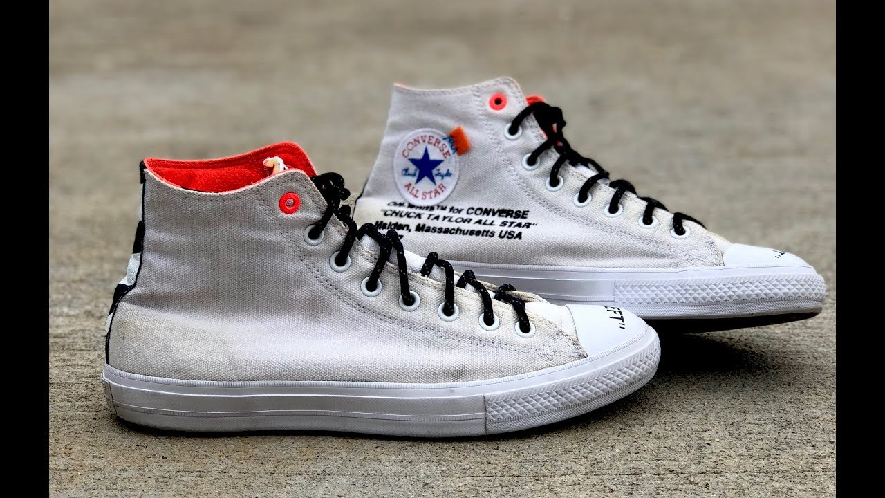 78b5ab91d567 CUSTOM OFF WHITE CONVERSE