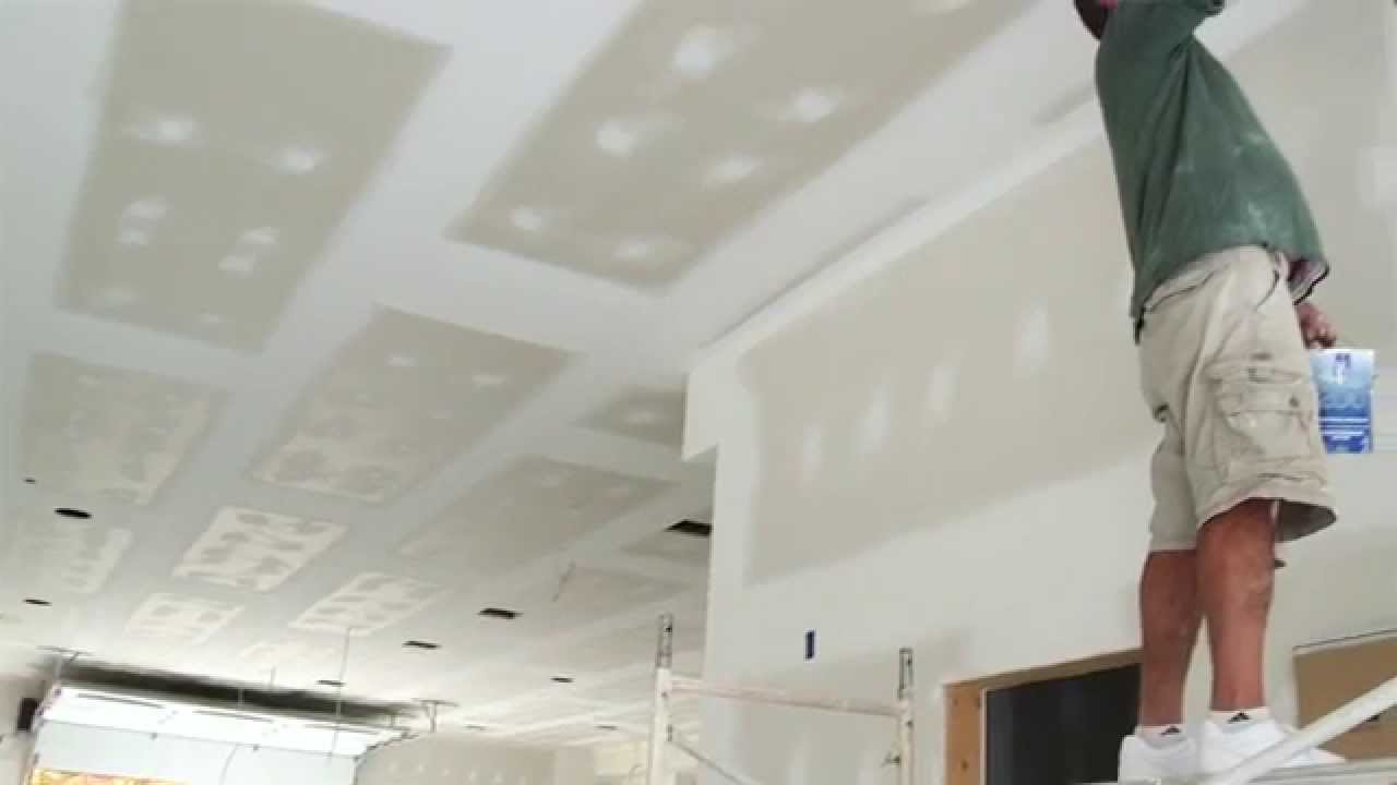 Promar 174 Acrylic Ceiling Paint Sherwin Williams Youtube