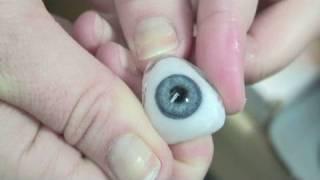 Making a $4,000 artificial eye