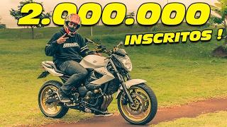 2.000.000 DE  INSCRITOS ! 😄