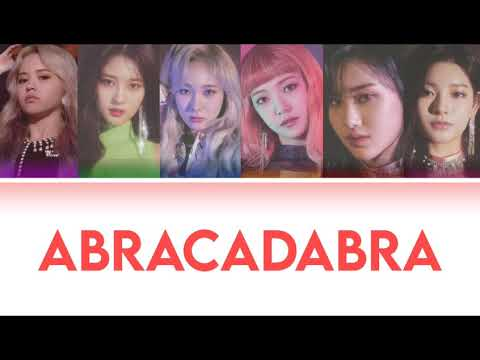 EVERGLOW   Abracadabra   Colorcoded   COVER