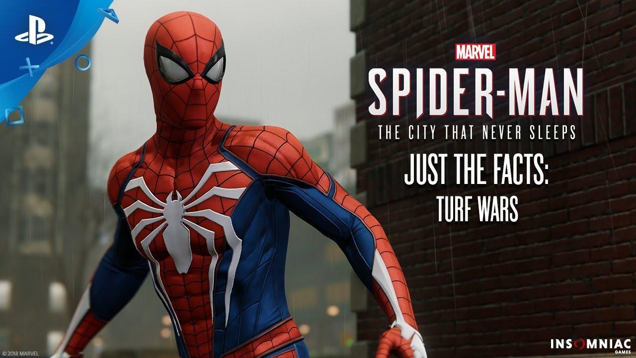В релизном трейлере «Человек-Паук: Войны банд» показали новые костюмы