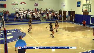 Covenant Volleyball Crazy Play