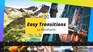 [FilmForth] How To Make Windows 10 Video Editor Transitions (2021)