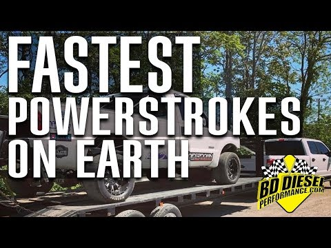 The Fastest Powerstrokes on Earth