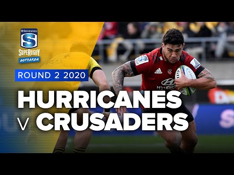 Super Rugby Aotearoa | Hurricanes V Crusaders - Rd 2 Highlights