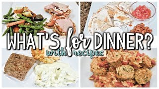 WHAT'S FOR DINNER | EASY DINNERS | COOK WITH ME  | SEPT 26 -OCT 2