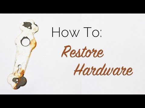 How To: Restore Hardware