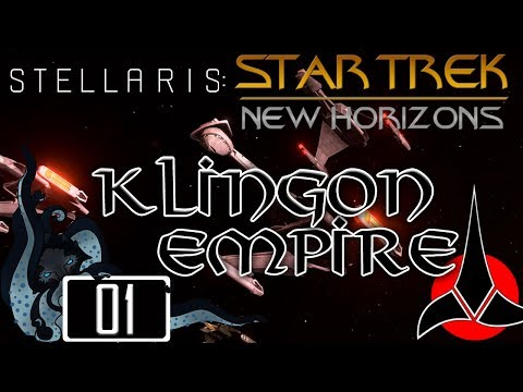 Qapla'! - Star Trek: New Horizons (Stellaris Mod) - Klingon Empire - #01 - Insane - Let's Play