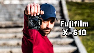 Fujifilm X-S10 -- a hell of a camera! But is it better than the X-T4?