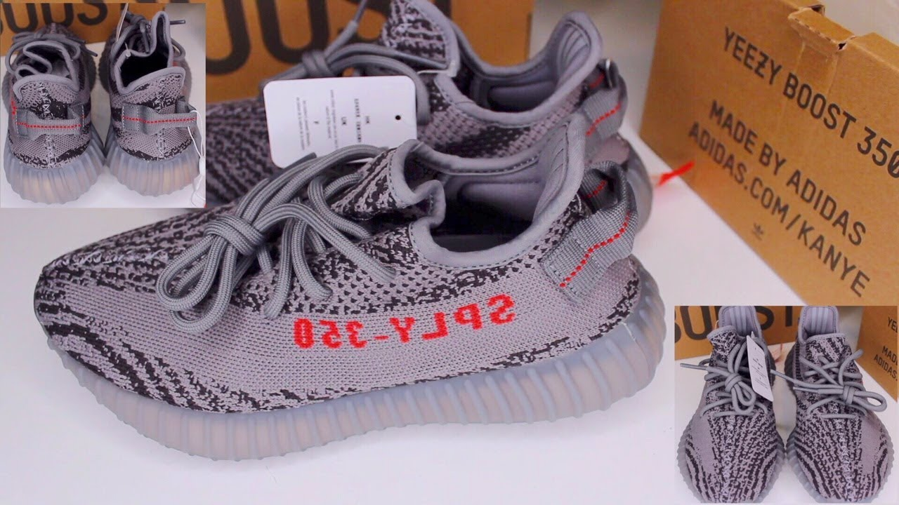 13a41069161 UNBOXING ADIDAS YEEZY BOOST 350 V2 BELUGA 2.0 GREY BOLD ORANGE DGH SOLID  GREY FLIGHTCLUB