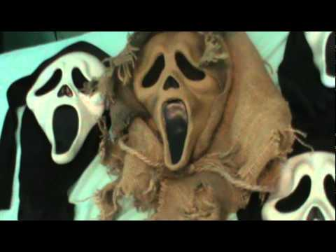 My Scream (Ghostface) mask collection