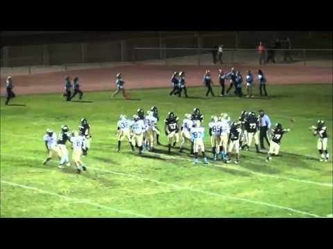 #44-David Thomas-LB/FB-Pete Knight High School-2013 Football Highlights