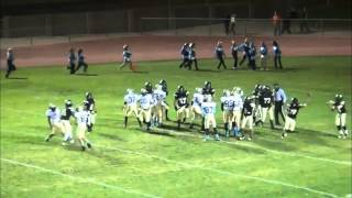 #44-David Thomas-LB/FB-Pete Knight High School-2013 Football Highlights
